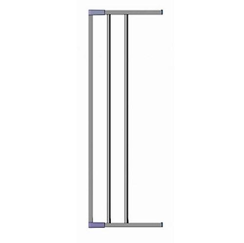 CLIPPASAFE 139/2S Extendable Swing Shut Gate Extension 18cm -Silver Drošības vārtiņu pagarinājums, CL1392S