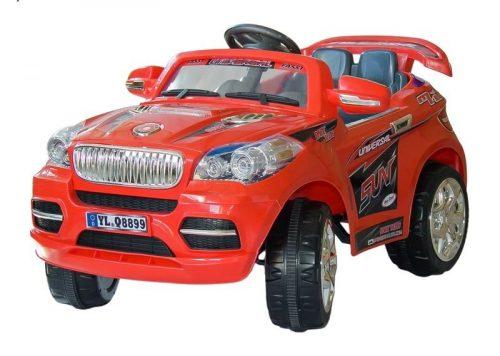 ELEKTROMOBILIS AR PULTI ELGROM BMW X5 12V 8899, RED