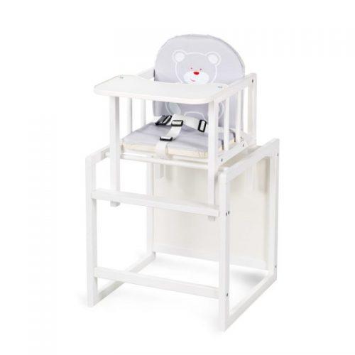 KLUPS AGA barošanas krēsliņš- transformers, balta C1