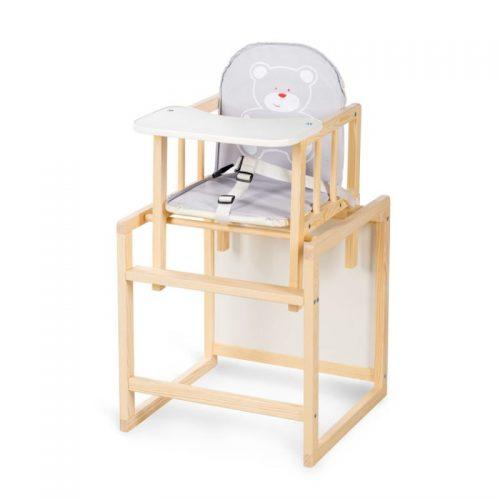 KLUPS AGA barošanas krēsliņš- transformers, priede C1