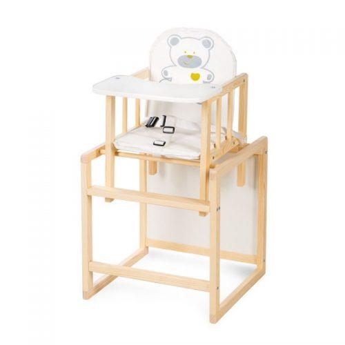 KLUPS AGA barošanas krēsliņš- transformers, priede C2