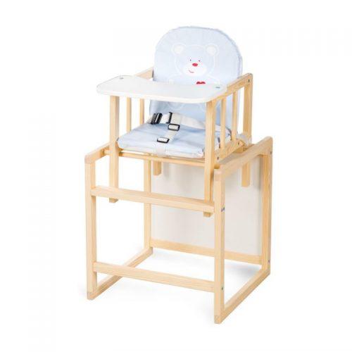 KLUPS AGA barošanas krēsliņš- transformers, priede C3