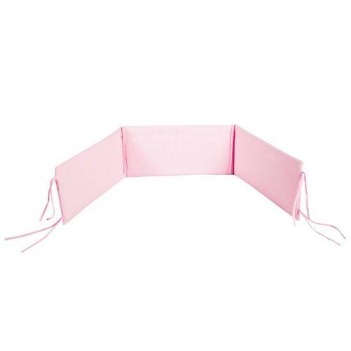 KLUPS Apmalīte bērnu gultiņai 180×30 cm – pink