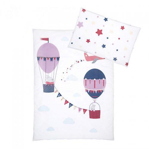 KLUPS Gultas veļas komplekts no 2 daļām Ballons 135X100cm , K094 balts/lillā