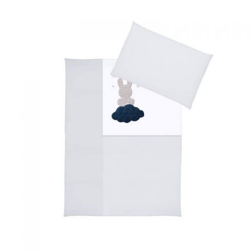 KLUPS Gultas veļas komplekts no 2 daļām Cloud 135X100cm, H243