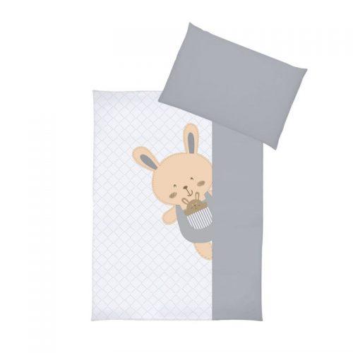 KLUPS Gultas veļas komplekts no 2 daļām Happy bunny 135X100cm, K068