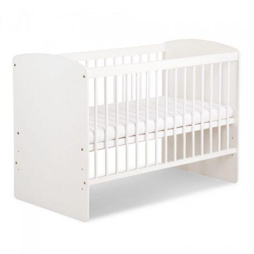 KLUPS KAROLINA II bērnu gulta 120x60cm, balta