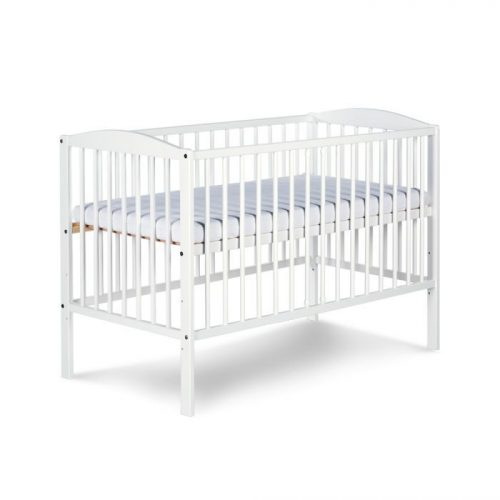KLUPS RADEK II bērnu gulta 120x60cm, balta