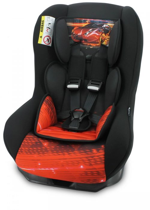 LORELLI BETA PLUS Autosēdeklītis 0-18kg BLACK FIERY RACE