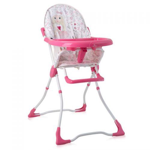 LORELLI MARCEL Barošanas krēsls 6m+ PINK GIRL