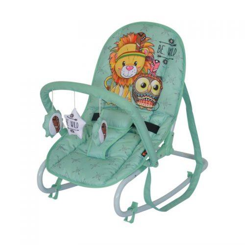 LORELLI TOP RELAX Šūpuļkrēsls GREEN INDIANS