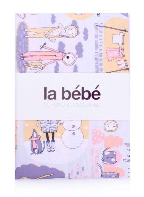 La Bebe Bērnu gultas veļas komlekts – dabīgas kokvilnas no 3 daļām 100×140, 105×150, 40×60 cm