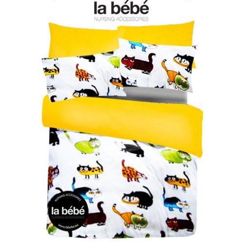 La Bebe Bērnu gultas veļas komplekts – dabīgas kokvilnas no 3 daļām 100×140, 105×150, 40×60 cm  Kisen