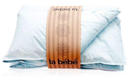 La Bebe Bērnu sedziņa ar dūnu/spalvu pildījumu [100x140cm]