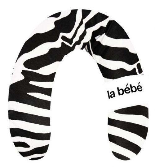 La Bebe Pakaviņš mazuļa barošanai, gulēšanai, pakaviņš grūtniecēm 30*175cm Zebra