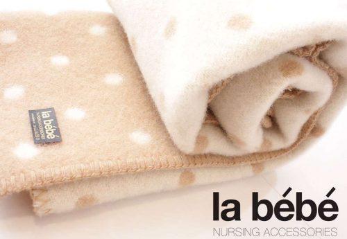 La Bebe dabīgas vilnas sega bērniem – Jaunzēlandes Merinos (Merynos) vilnas 70x100cm