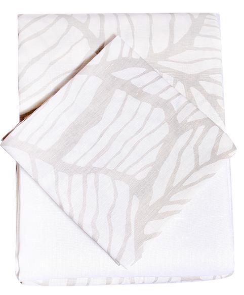 La bebe Eco 100% Natural Linen Collection Bērnu 3 -dalīgs gultas veļas komplekts no dabīga līna 100x140cm