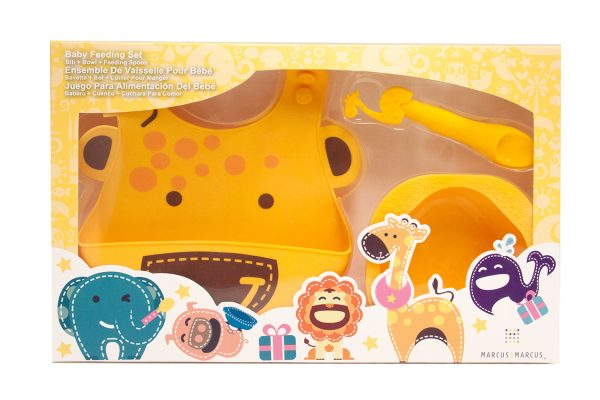 Marcus & Marcus Коmplekts mazuļu barošanai Lola the Giraffe