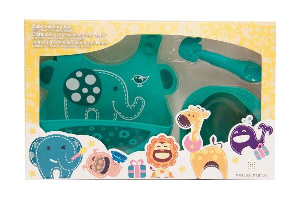 Marcus & Marcus Коmplekts mazuļu barošanai Ollie the Elephant