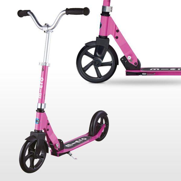 Micro skrejritenis Kids Cruiser rozā