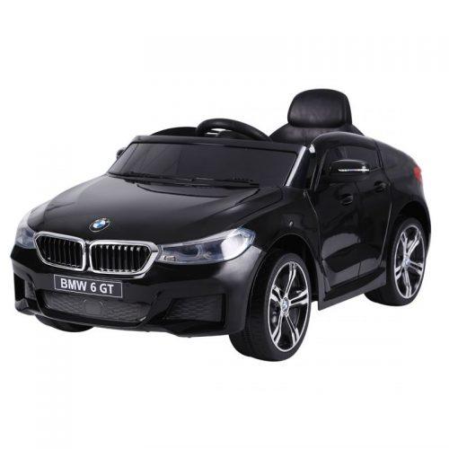 TO-MA BĒRNU ELEKTROMOBILIS AR TĀLVADĪBAS PULTI BMW GT JJ2164 BLACK
