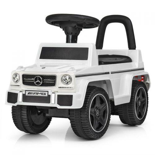 TO-MA MERCEDES-JEEP Bērnu stumjamā mašīna J balta