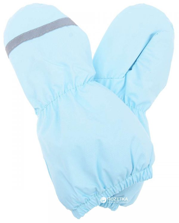 Lenne '20 Easy  Ziemas termo cimdi bērniem gaiši zili ( 0-1)