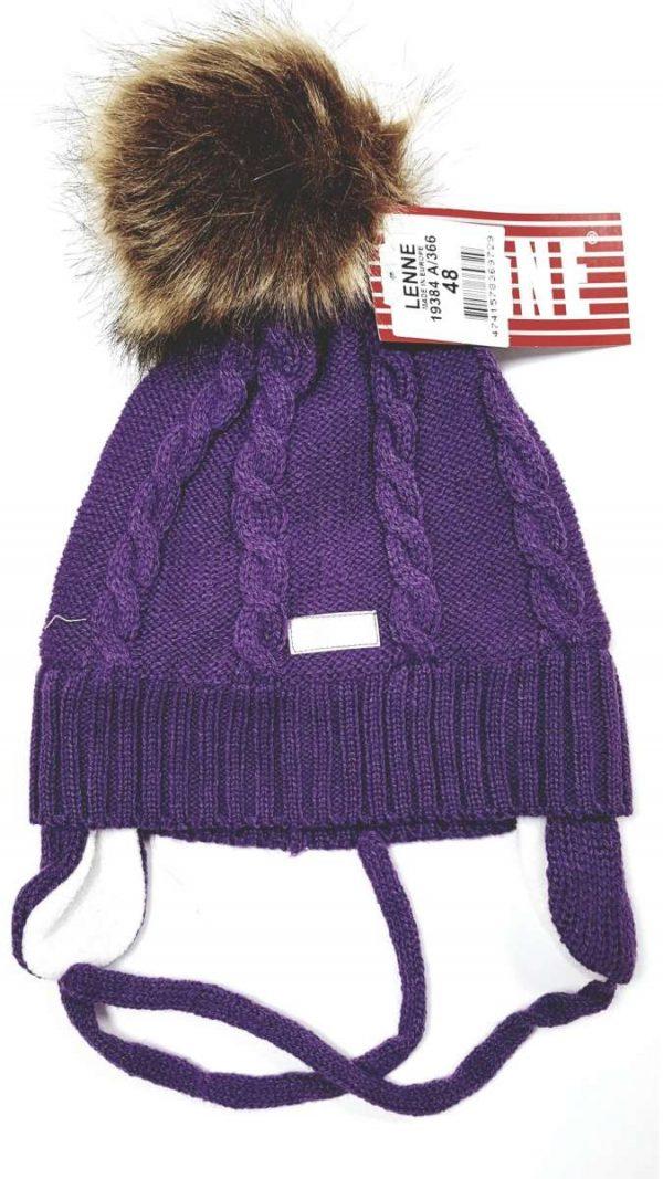 Lenne'20 Janne  Mazuļu siltā ziemas cepure  lillā