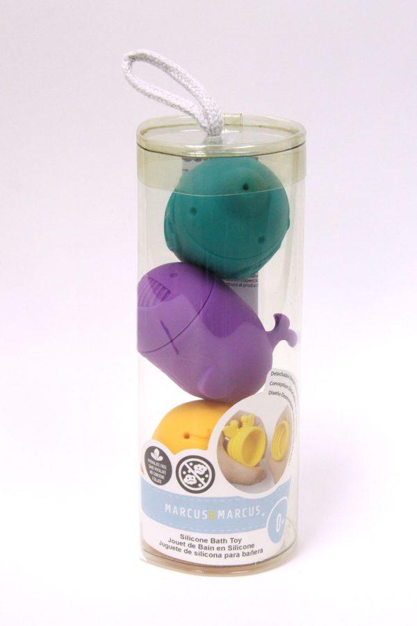 Marcus&Marcus Vannas rotaļlietas komplekts ( silikona) – Ollie, Willo & Lola