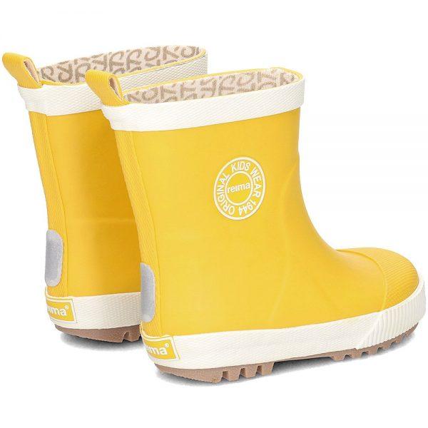 Reima Taika Bērnu gumijas zābaki dzeltani Izmēri: 25-30