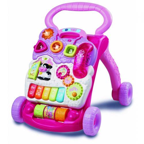 VTECH bērnu Staigulis (LV) rozā