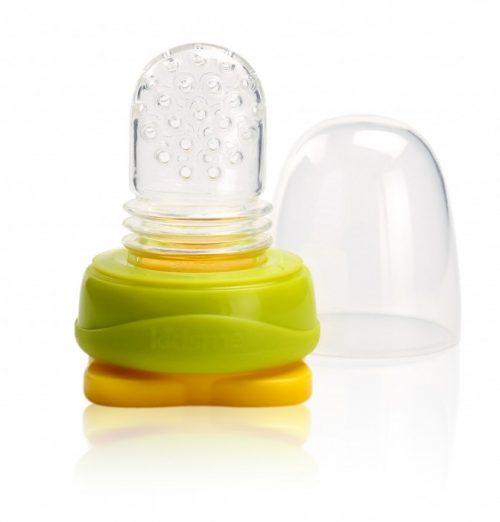 Kidsme Food Pouch adapteris mazuļa ēdināšanai no biezenīšu stāvpakām, Lime