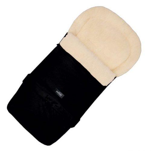 WOMAR MULTI ARCTIC ratu guļammaiss ar aitas vilnas oderi (ar pagarinājumu) N20, BLACK 12