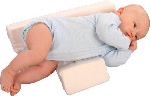 WOMAR mazuļa atbalsta spilvens 60x36cm, balts