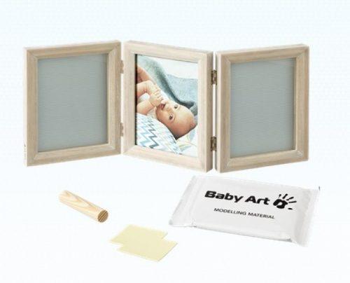 Baby Art Double Print Frame My baby Touch  komplekts mazuļa pēdiņu/rociņu nospieduma izveidošanai, stormy