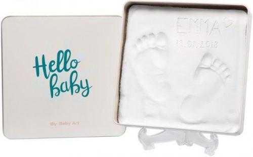 Baby Art Magic Box Essentials komplekts mazuļa pēdiņu/rociņu nospieduma izveidošanai