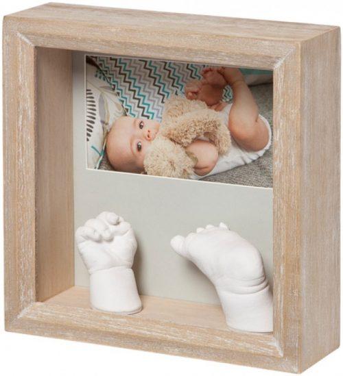 Baby Art My Baby 3D Sculpture komplekts mazuļa pēdiņu/rociņu nospieduma izveidošanai, Stormy