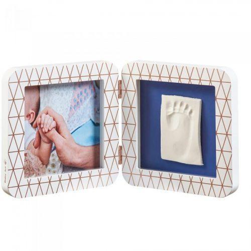 Baby Art Print Frame My baby Touch Copper Edition komplekts mazuļa pēdiņu/rociņu nospieduma izveidošanai, white