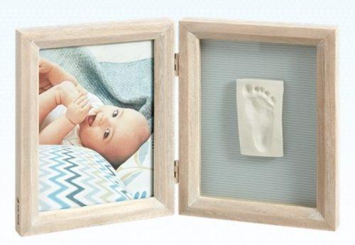 Baby Art Print Frame My baby Touch komplekts mazuļa pēdiņu/rociņu nospieduma izveidošanai, stormy