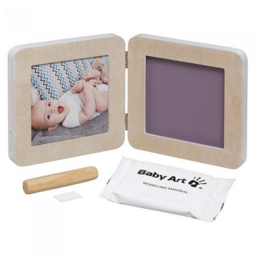 Baby Art Print Frame My baby Touch  komplekts mazuļa pēdiņu/rociņu nospieduma izveidošanai, wood