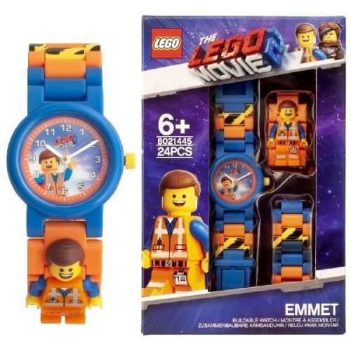 CLICTIME Lego Movie 2 Rokas pulkstenis Emmet