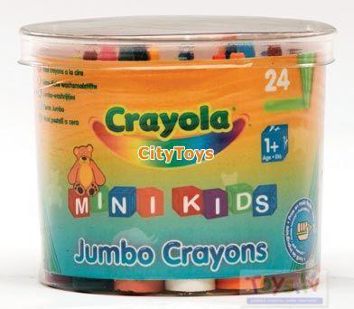 Crayola MiniKids Jumbo krītiņi, 24 gb.