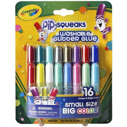 Crayola līme ar spīdumiem, 16 gb.