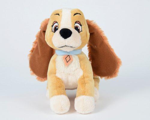 DISNEY Lēdija, 25 cm plīša rotaļlieta