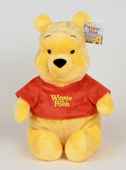 DISNEY Vinnijs Pūks, 43 cm plīša rotaļlieta