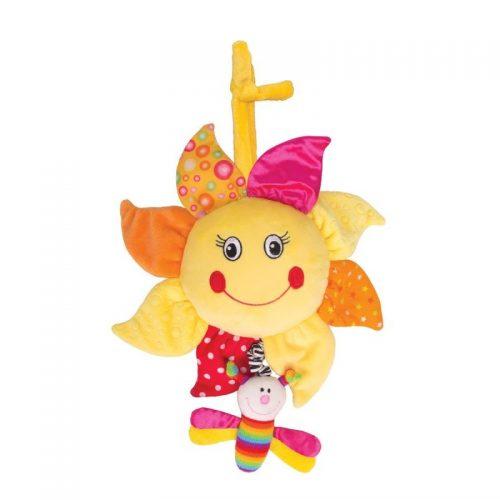 Happy Snail Muzikālā rotaļlieta – saulespuķe