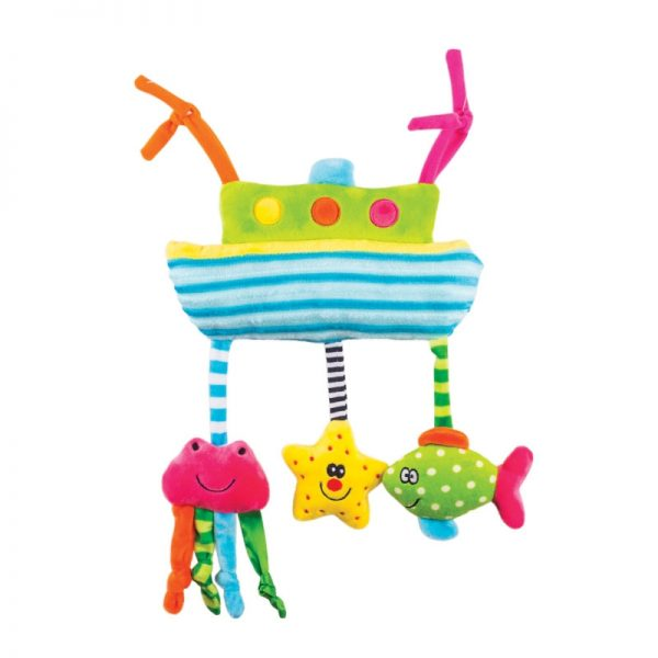 Happy Snail Piekarināma rotaļlieta – kuģītis