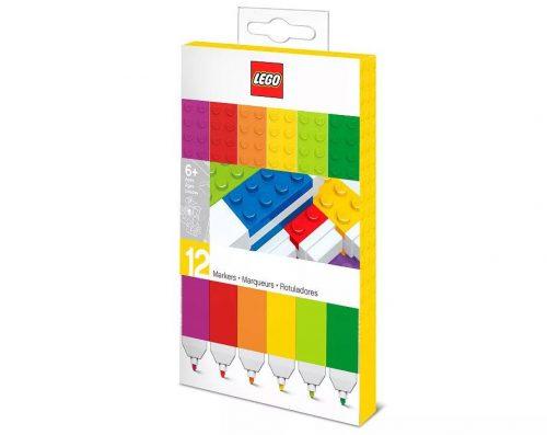 IQ LEGO STATIONERY 2.0 Marķieri (12 gab.).