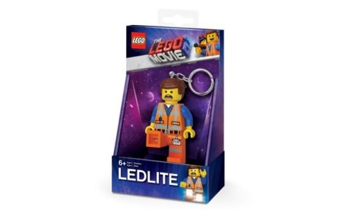 IQ LEGO THE LEGO MOVIE 2 LED-atslēgu piekariņš (Emmet)