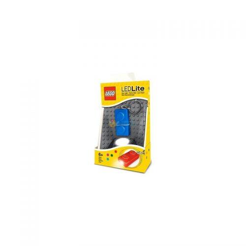 IQ LEGO piekariņš ar LED, zils